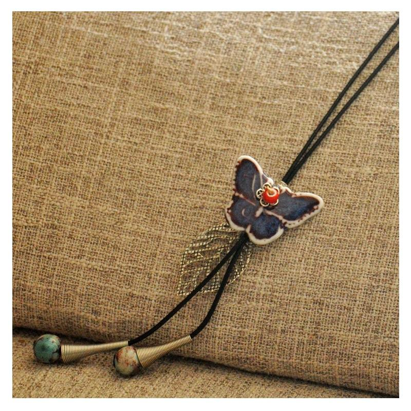 Butterfly Amulet Necklace
