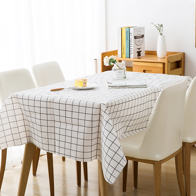 Disposable Plaid Tablecloth for Minimalist And Aesthetic Table Set-Up
