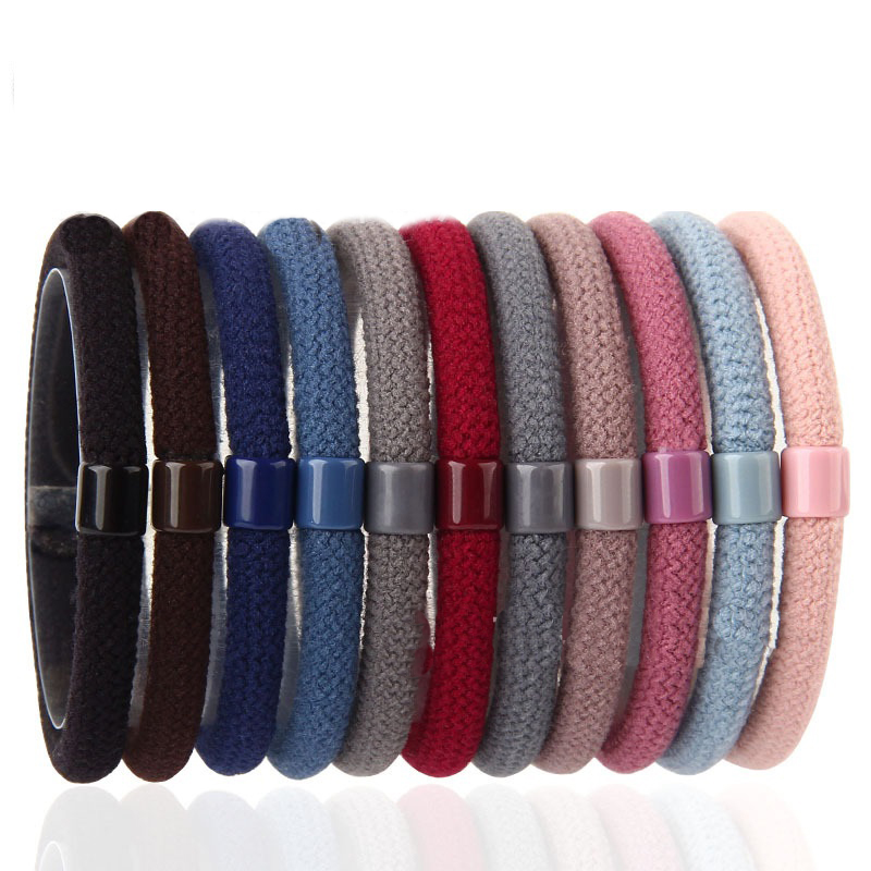 Seamless Knit Hair Tie Sets