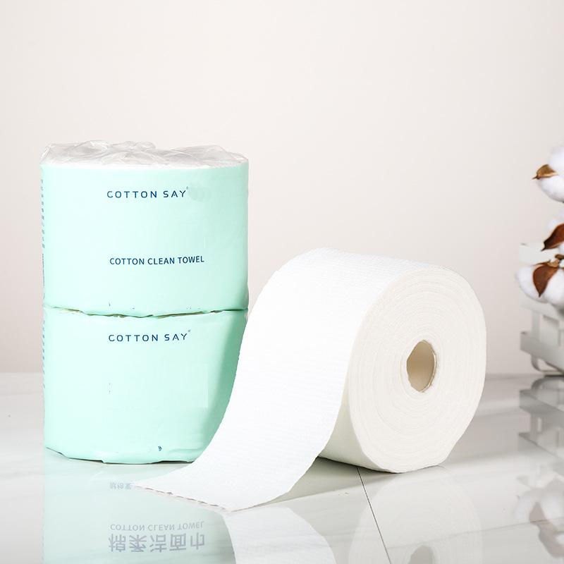 Disposable Facial Cleansing Towel Roll
