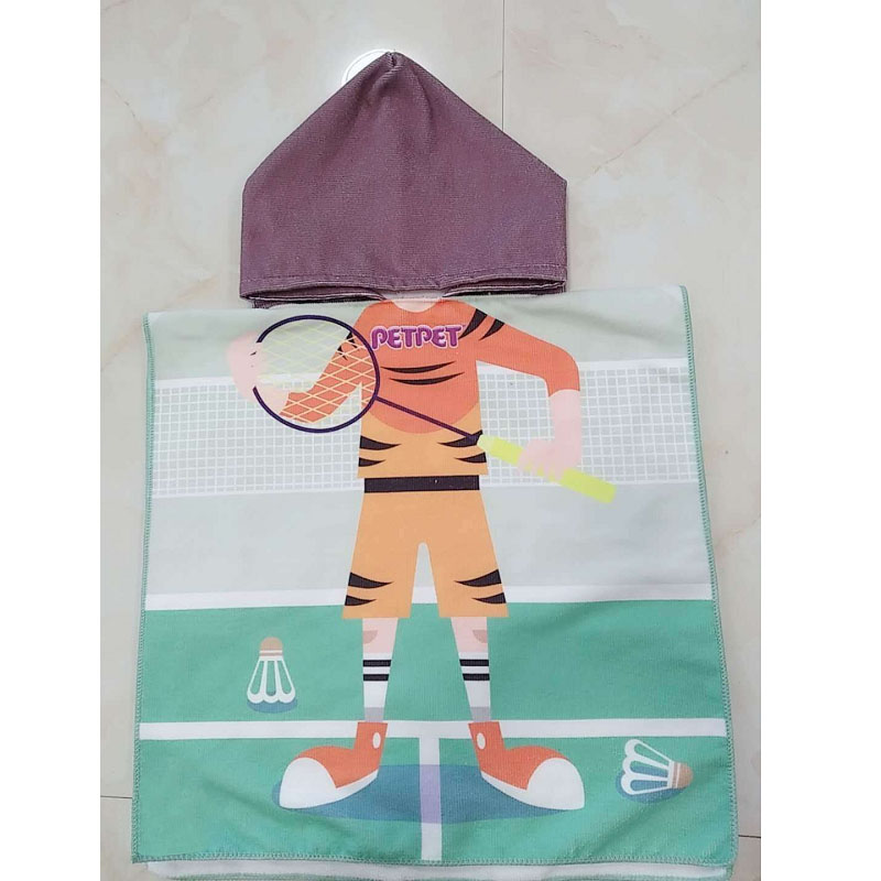 Children's Cartoon Swimming Towel