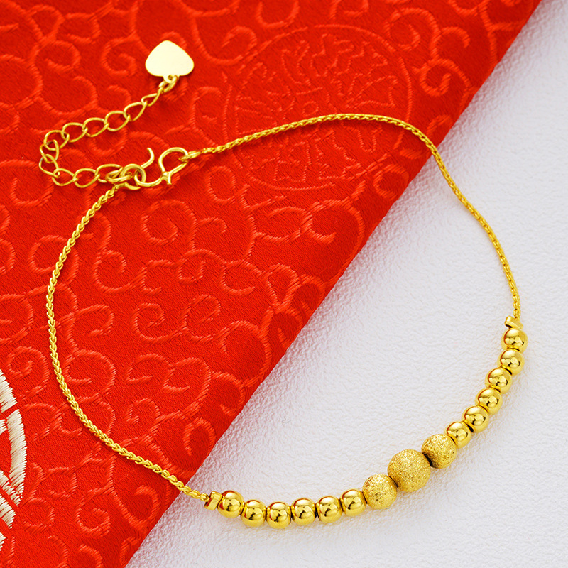 Hizana 24k Gold Plated Charm Anklet Collection
