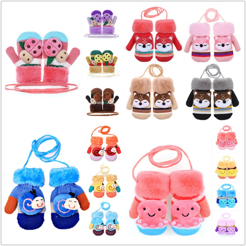 Cute Animals Toddlers' Gloves