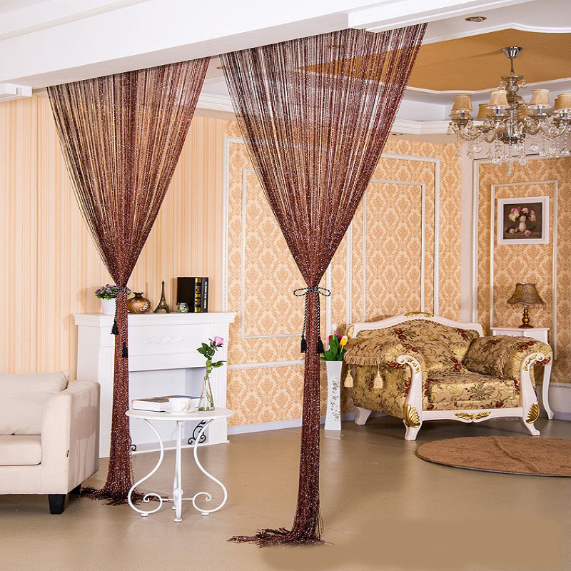 Fringe String Room Partition Curtain
