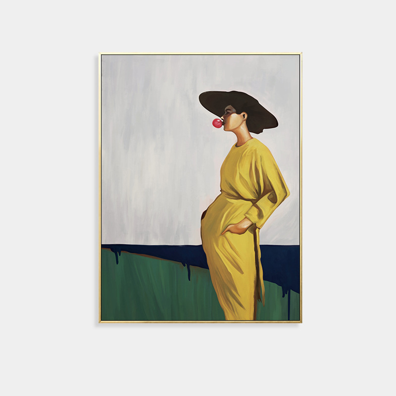 Woman in Yellow Portraits