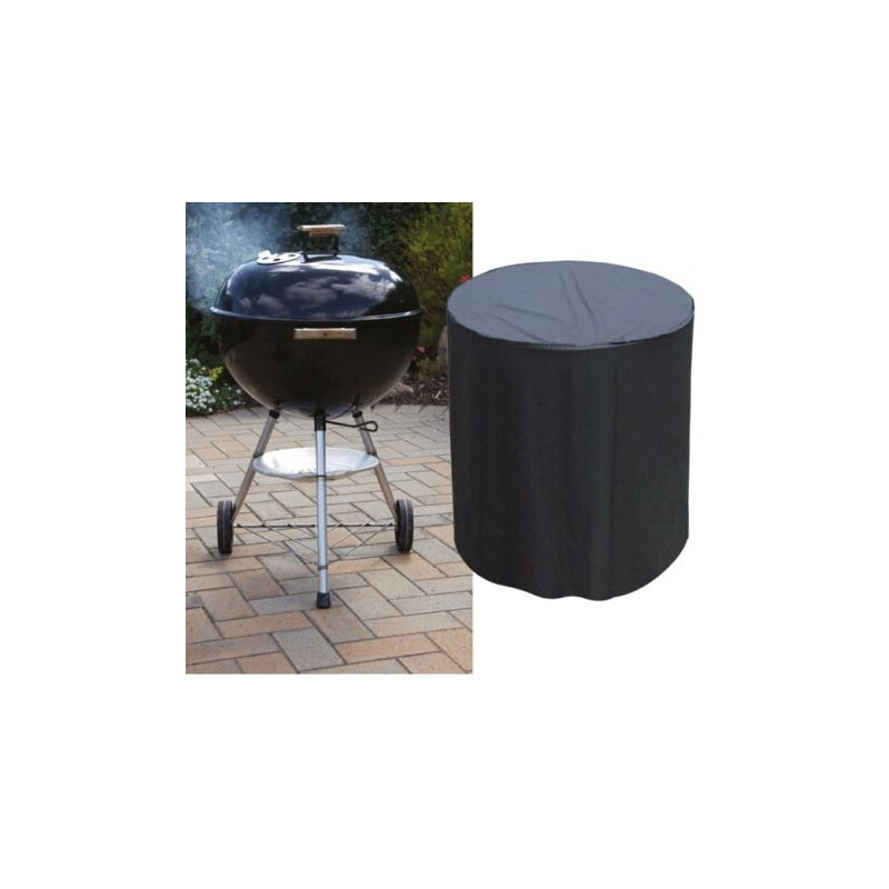 Waterproof Cylindrical Barbeque Grill Cover
