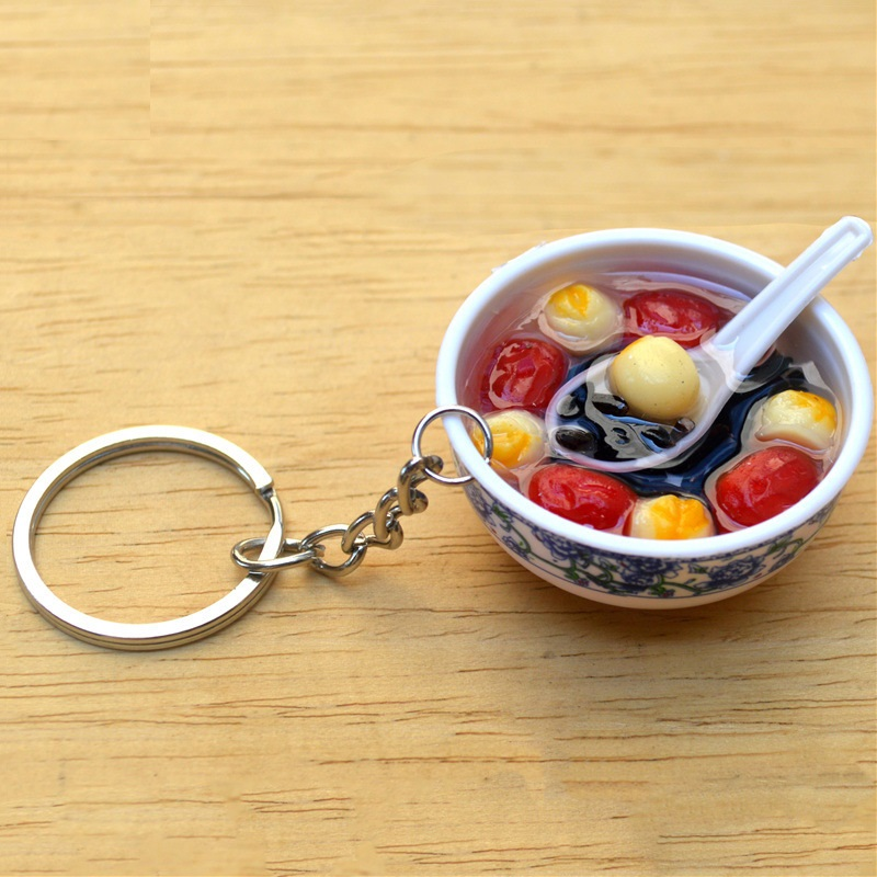 Bowl of Soup Keychain Collection