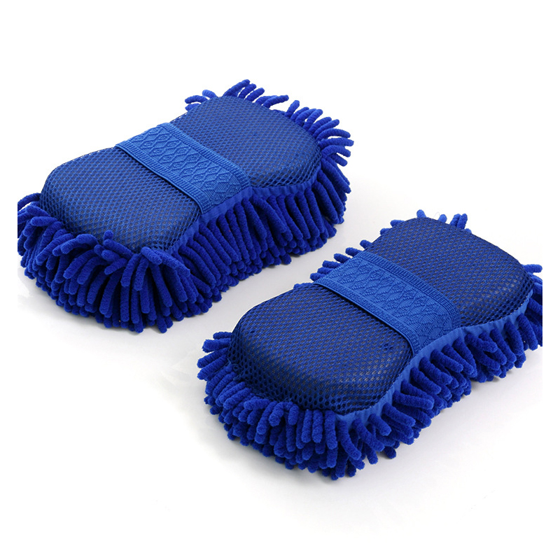 Polyester Fiber Colored Car Cleaning Sponges