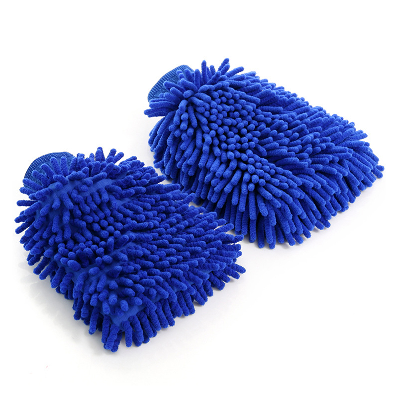 Double-Sided Car Cleaning Gloves