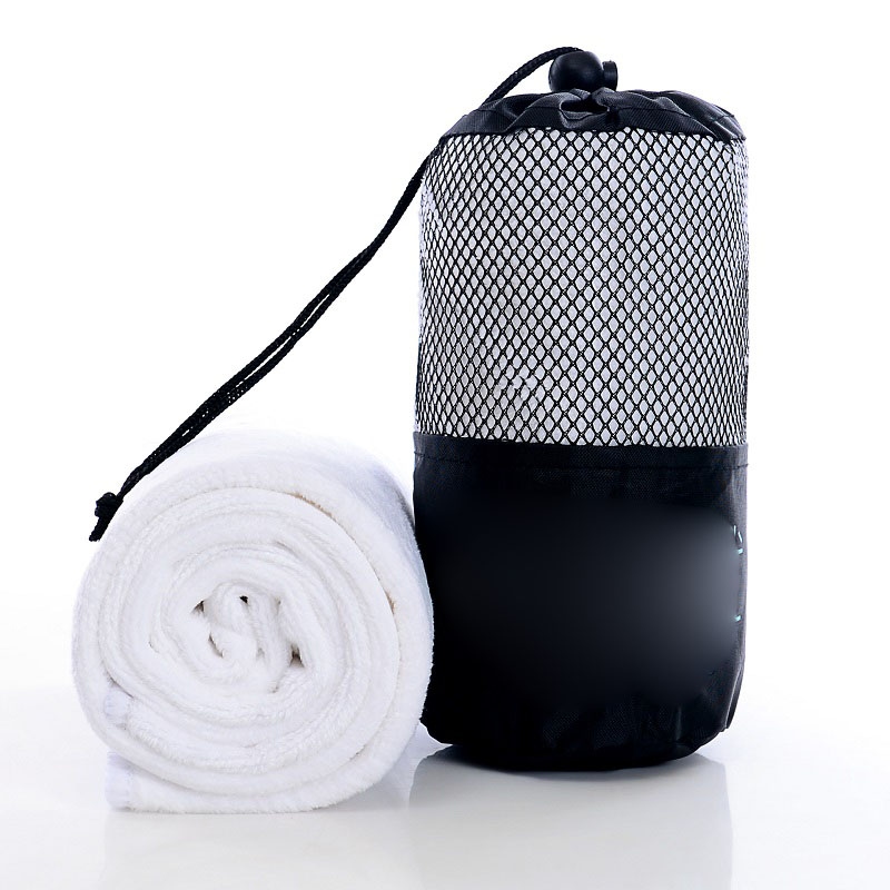 Mesh Sports Bag and Quick-Dry Towel