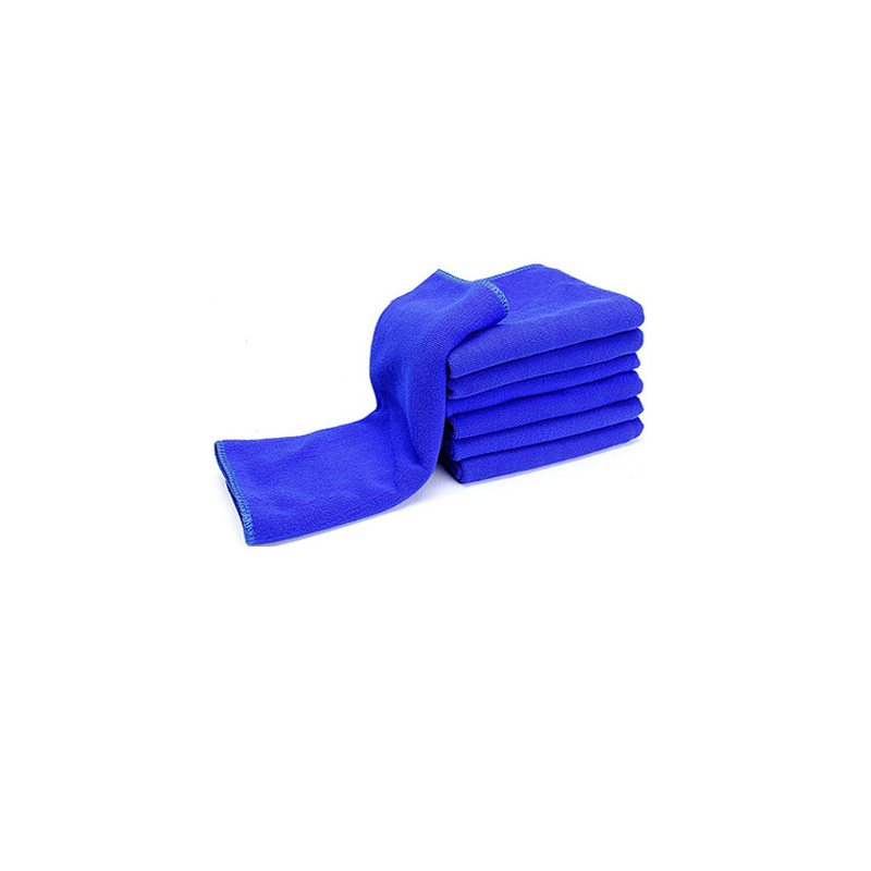 Blue Absorbent Car Cleaning Towel