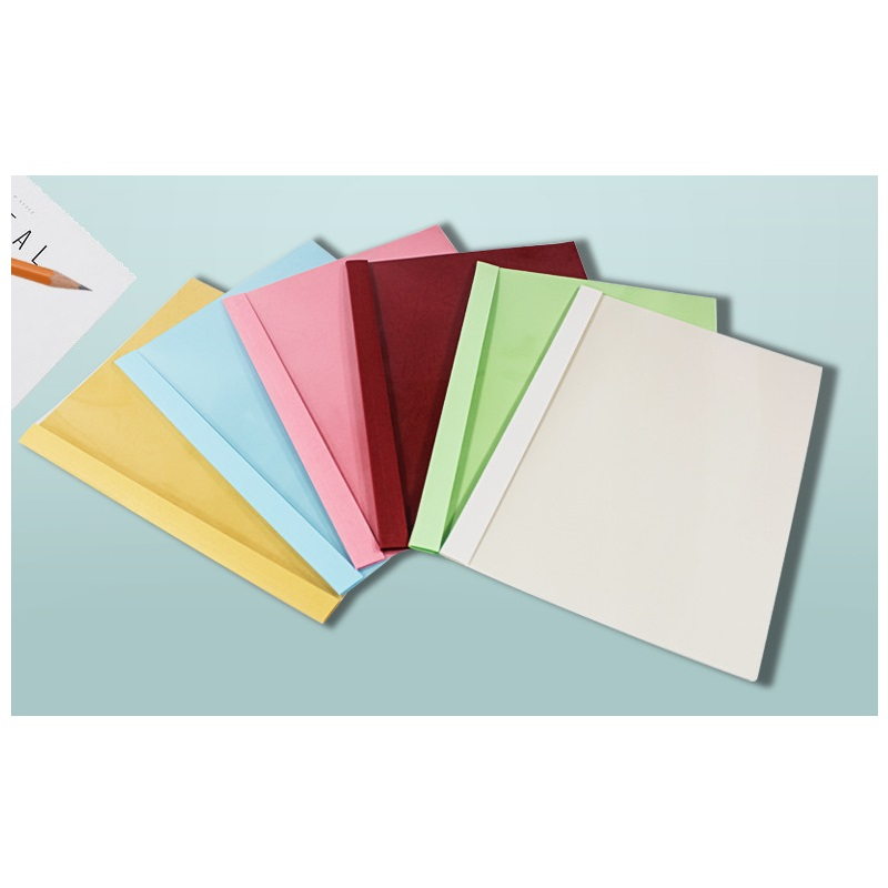 A4 Colored Clear Folders for Documents