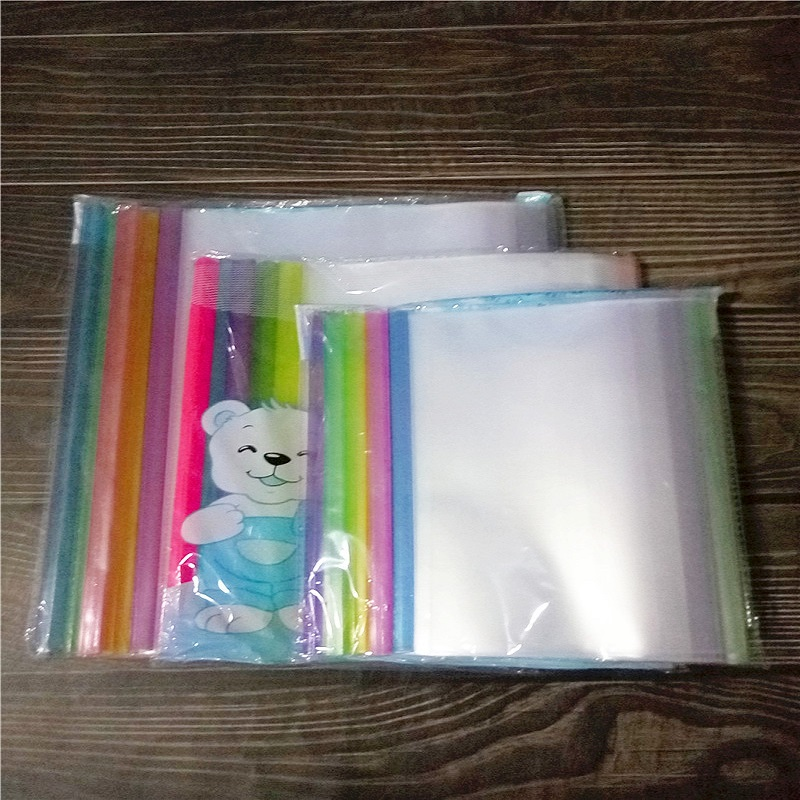 Color-Coded Book Sleeves