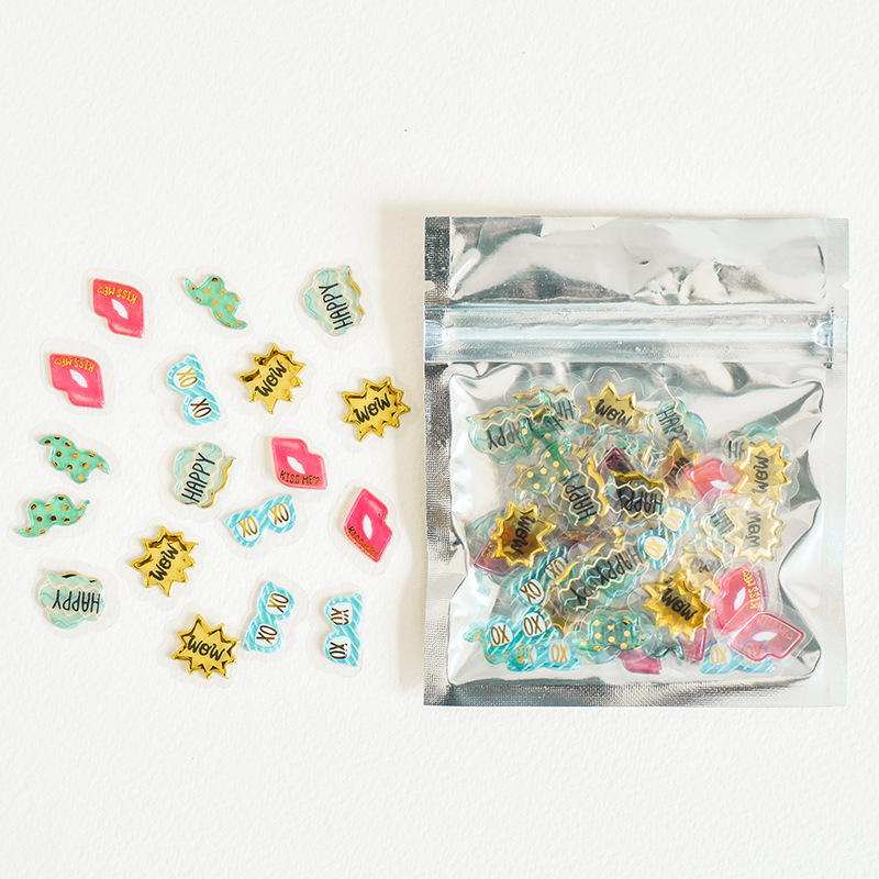 Hipster Statement Crystal Sticker Pack
