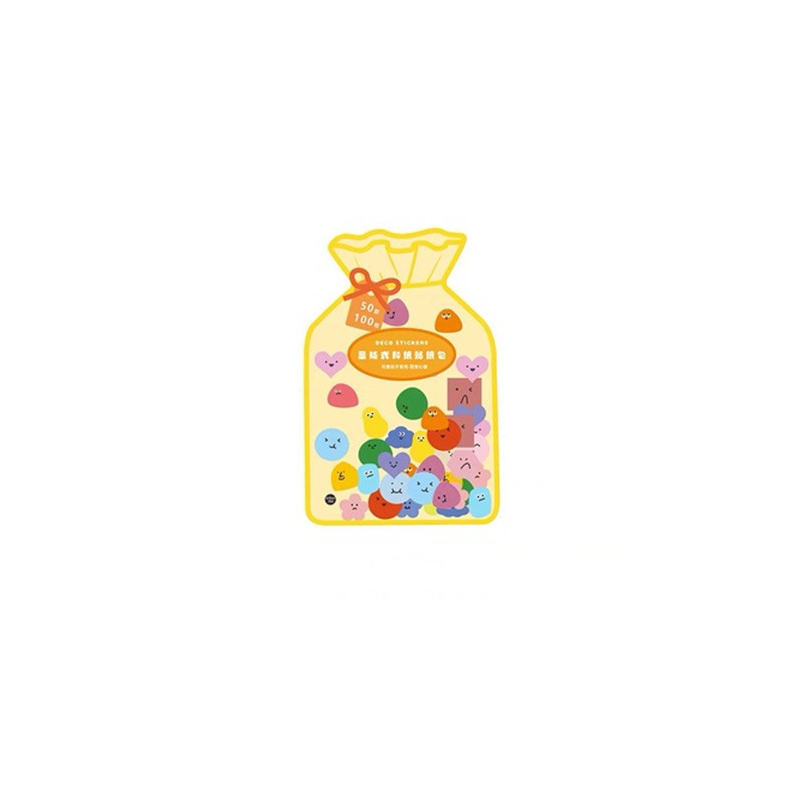 Bag of Cute Stickers (100 Stickers/Pack)