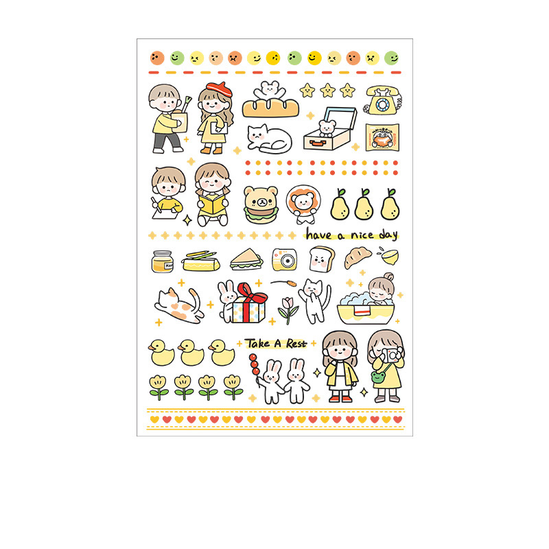 Petite and Pretty Paper Sticker Sheet