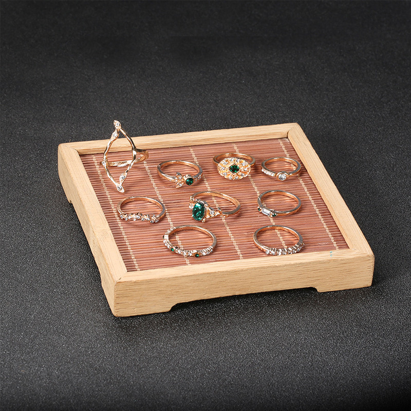Fancy Green Crystal Ring (9 Pieces/Set)