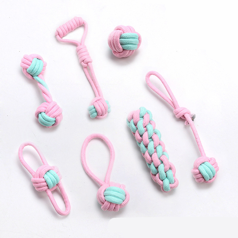 Bite Resistant Cotton Rope Pet Toys for Large Breed Dogs