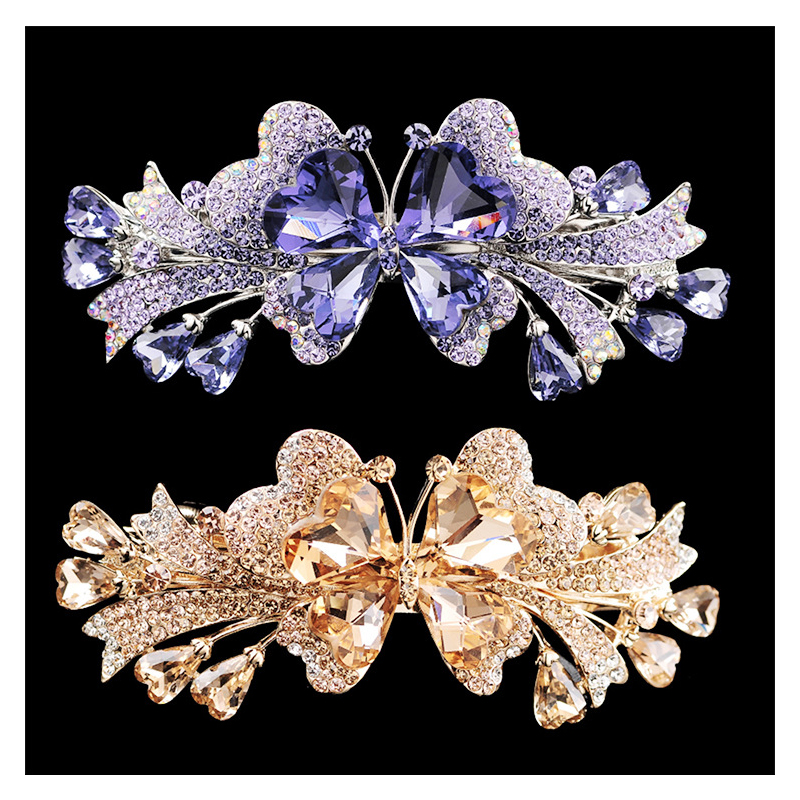 Cazie Crystal Butterfly Hair Pin