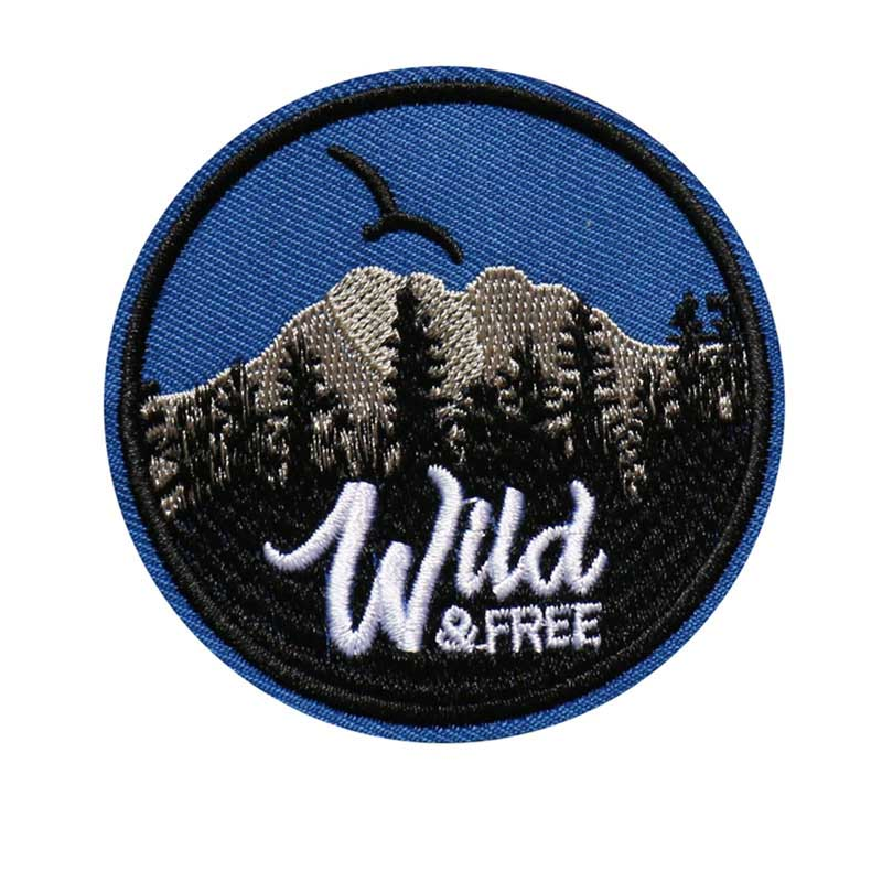 Embroidered Circular Patches