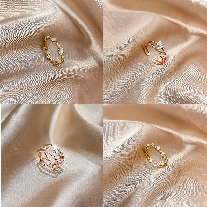 Caryse Crystal Ring Collection