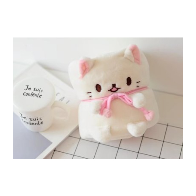 Cute Cat Small Roll Blanket Collection