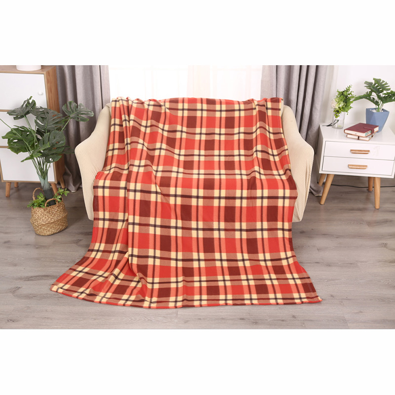 Double Sided Plaid Blanket