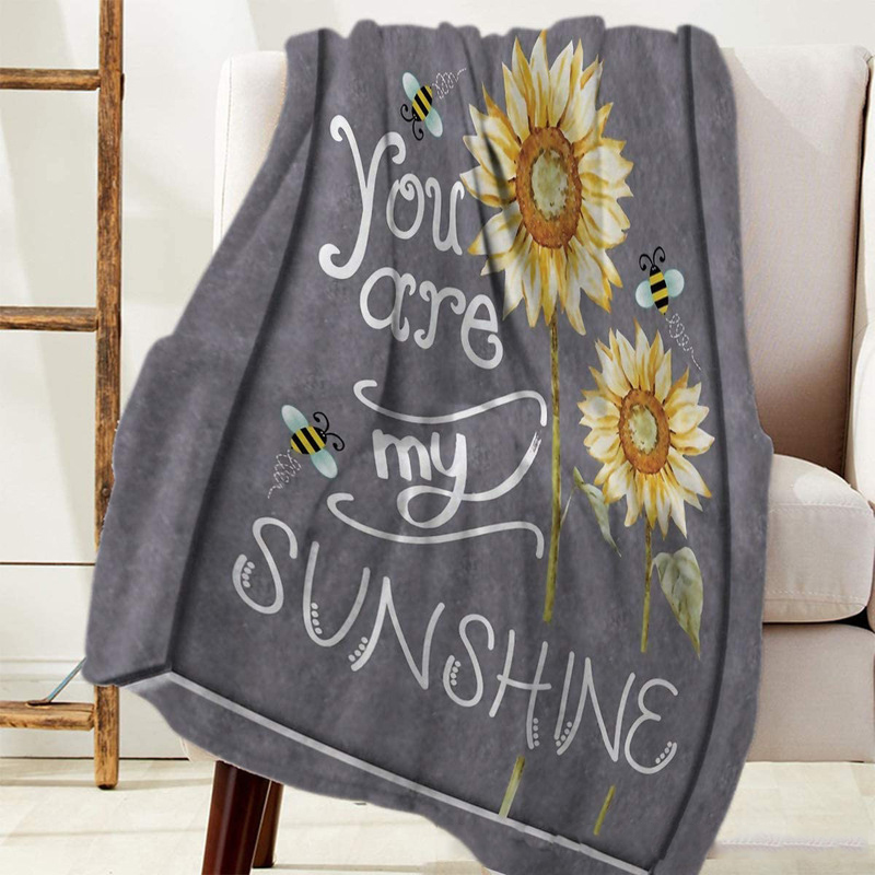 You Are My Sunshine Polyester Fiber Blanket