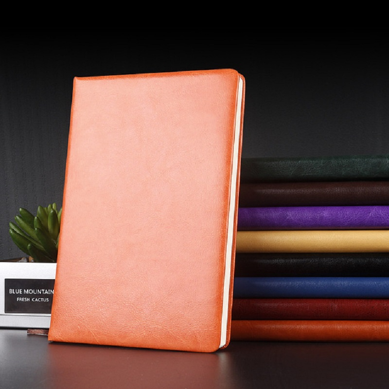 Classic Leather A5 Notebook