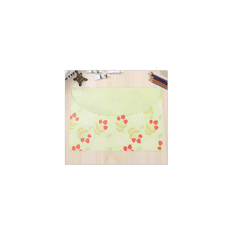 Flowers and Bunny Envelope