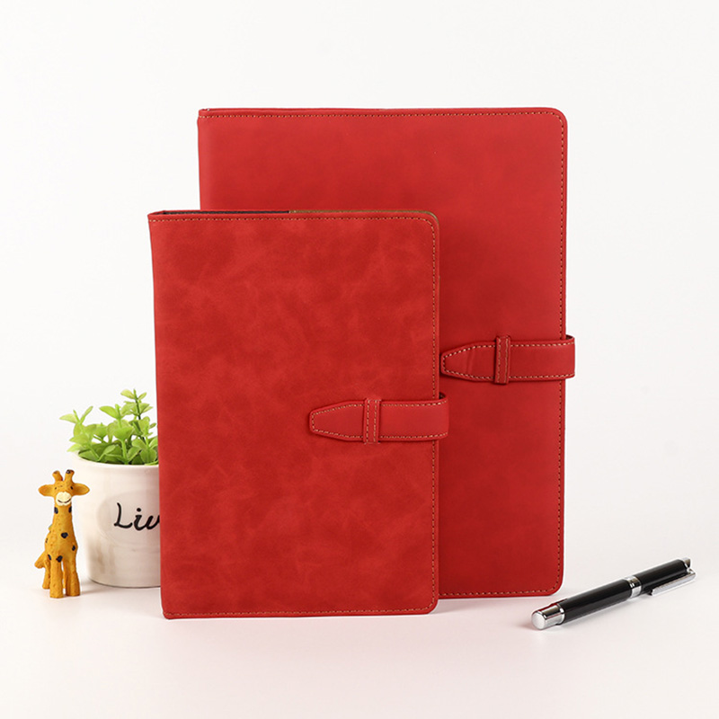 Faux Leather Office Notebook