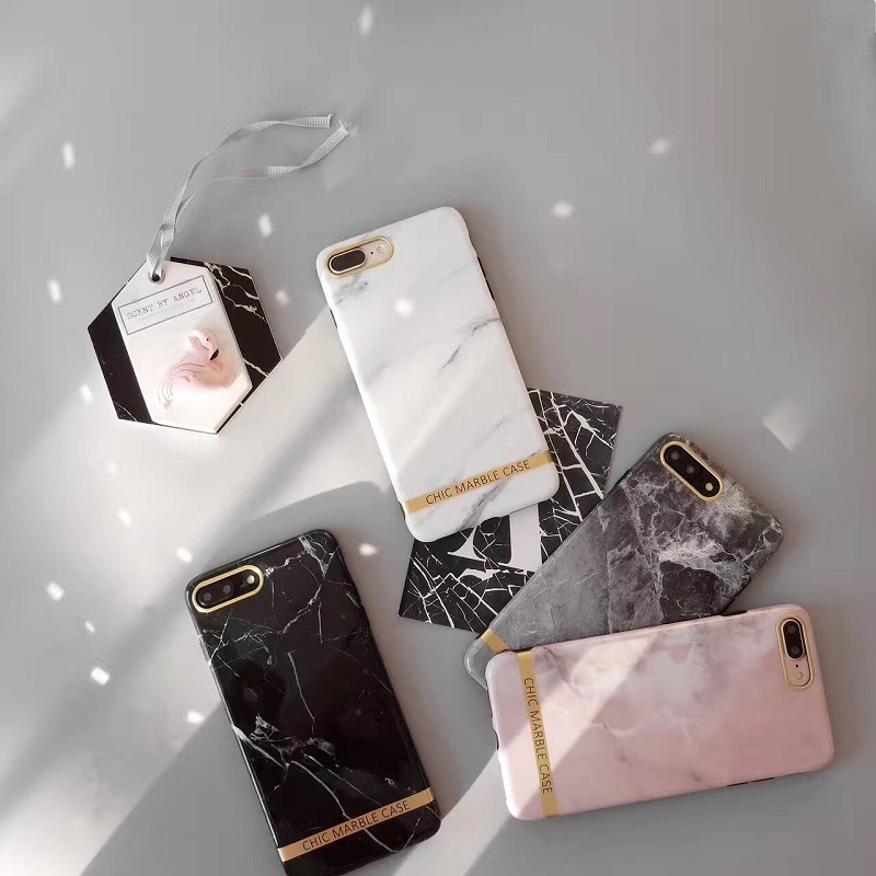 Chic Marble Phone Case for Apple iPhones
