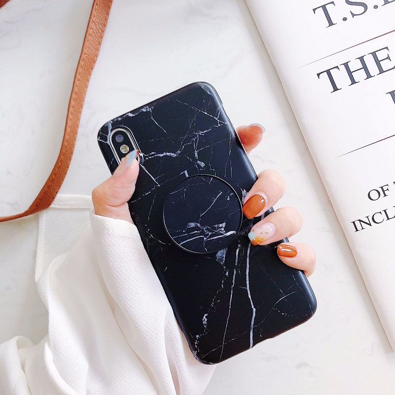 Simple Marble-Like Mobile Case for iPhone