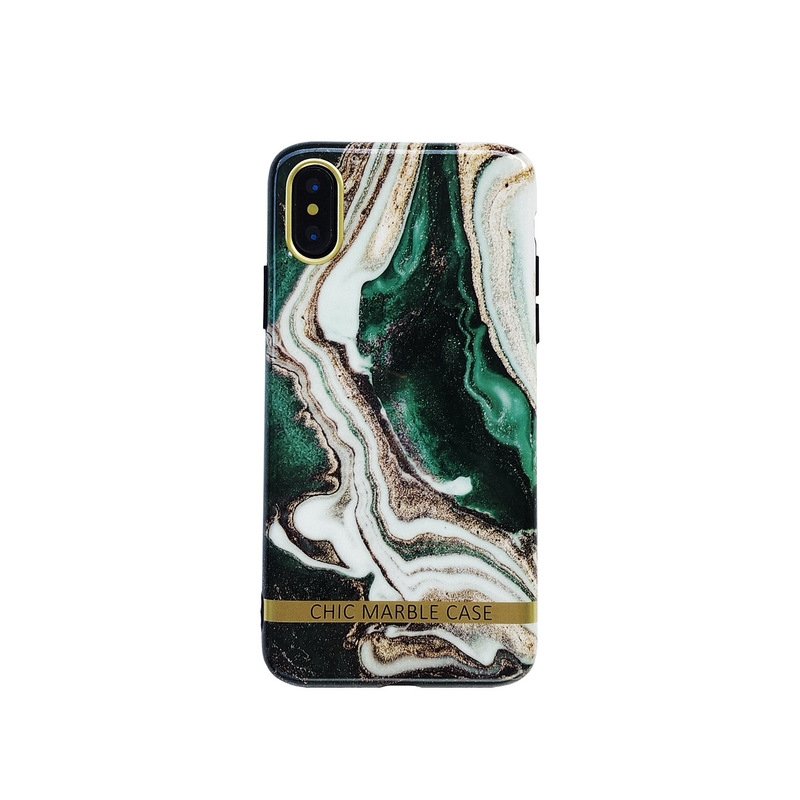 Green Marble Mobile Case for iPhone