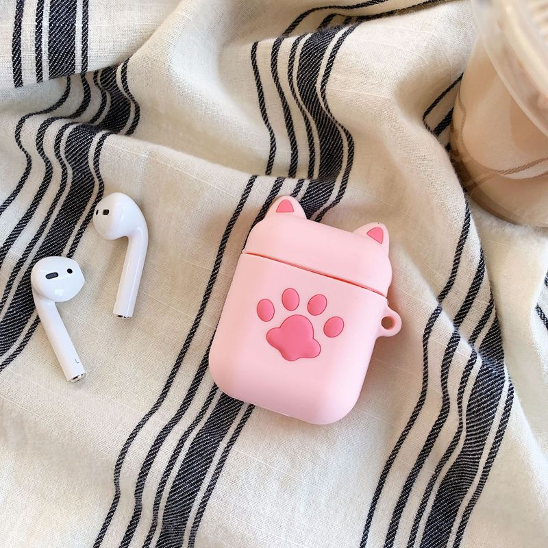 Pig and Paw Print AirPods Case
