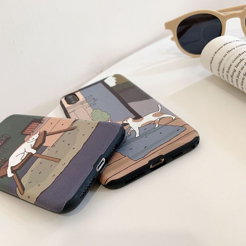 Chillin' Cat Mobile Case for iPhone