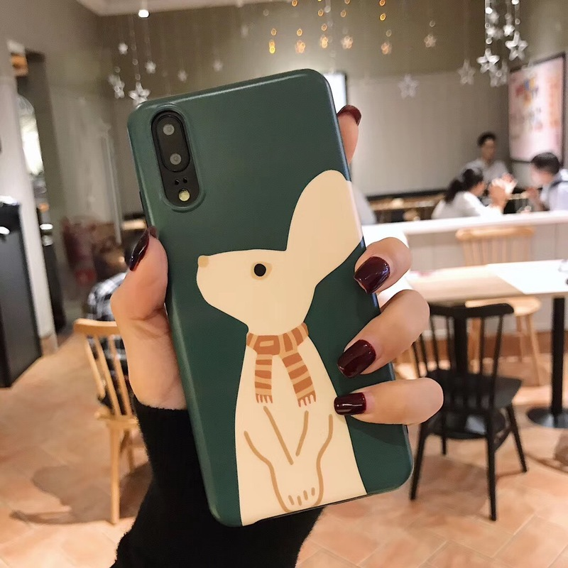 Rabbit with Scarf Mobile Case for Huawei