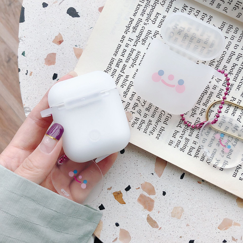 Soft Smiles Airpods Case