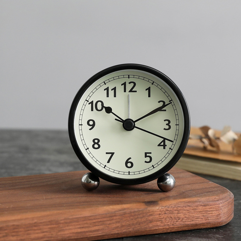 Carrington Circular Alarm Clock