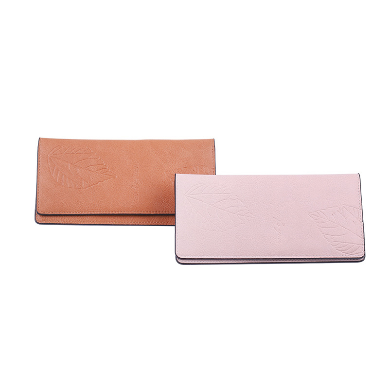 Chiara Embossed Leaves Wallet