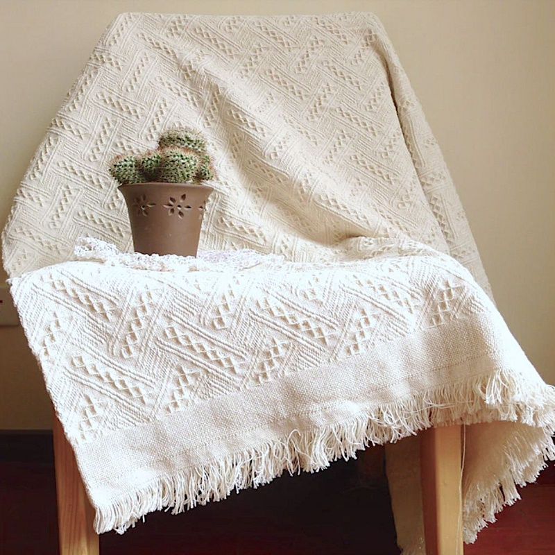Knitted Soft Sofa Blanket