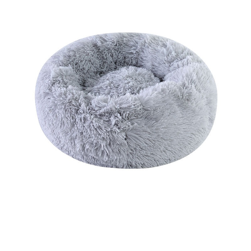 Cotton and Plush Beanbag Pet Bed