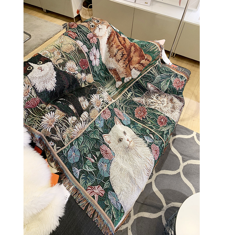 Regal Cats Tapestry
