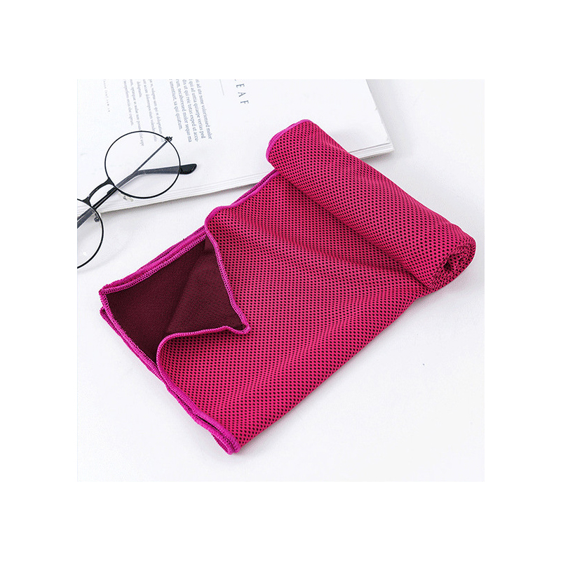 Two Tone Seat Absorbent Cooling Towel