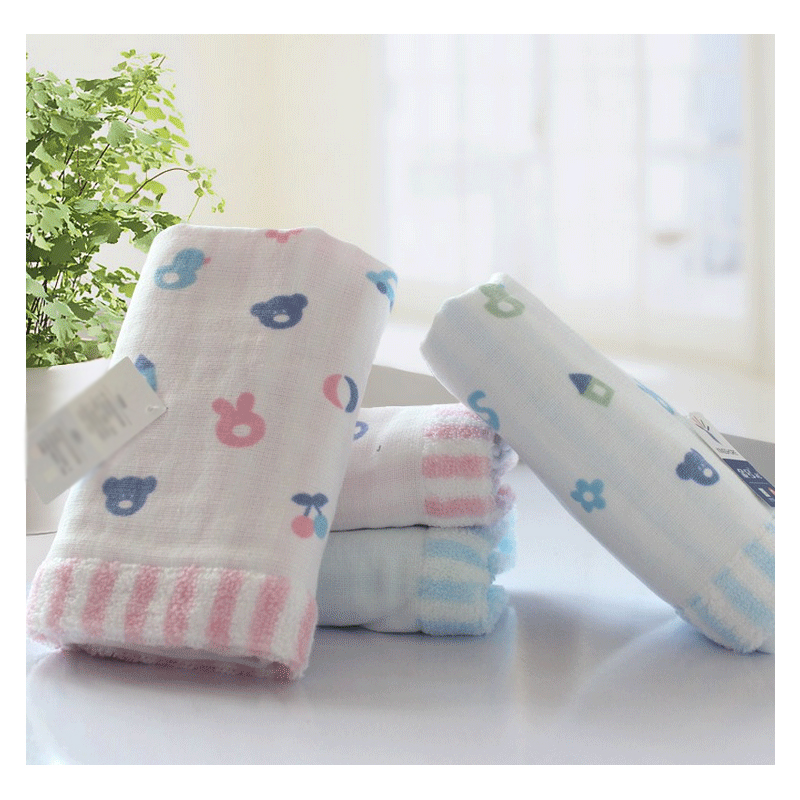 Cute Icons Face Towel
