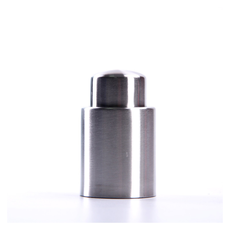 Stainless Steel Push-Type Wine Stopper