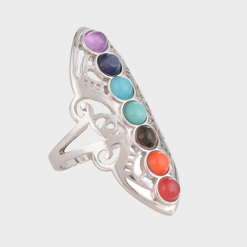 Energy Natural Stone Ring