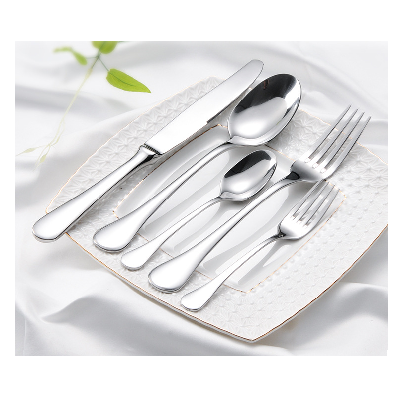 Sleek Stainless Steel Cutlery