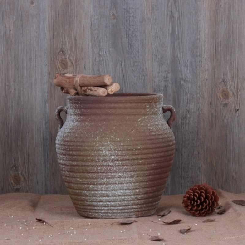 Spotted Roe Ceramic Vase