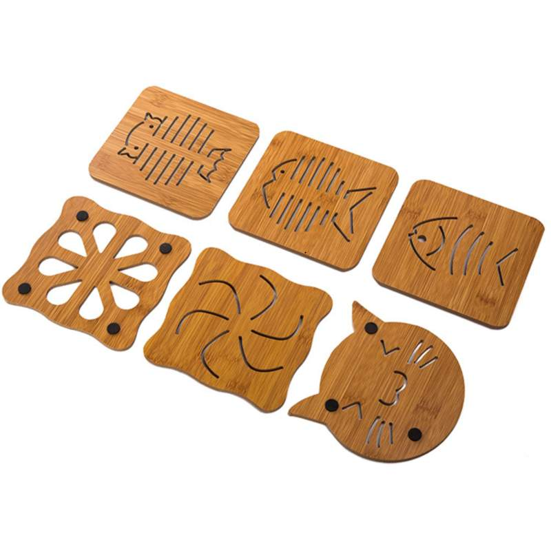 Wooden Table Coasters for Linen Care